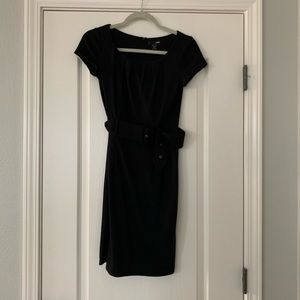 H&M belted pencil dress
